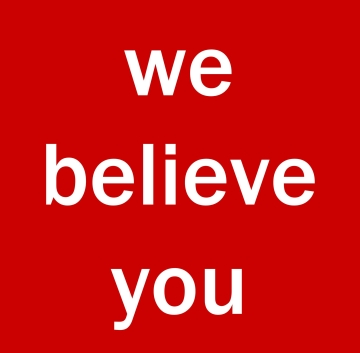 We Believe You, Facebook, Community, Child Sexual Assault, Gabrielle Senza, artist-activist